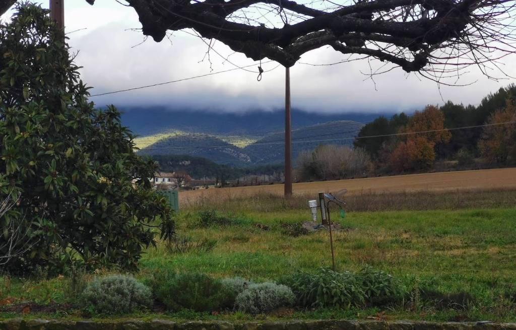 nuages sur le Luberon